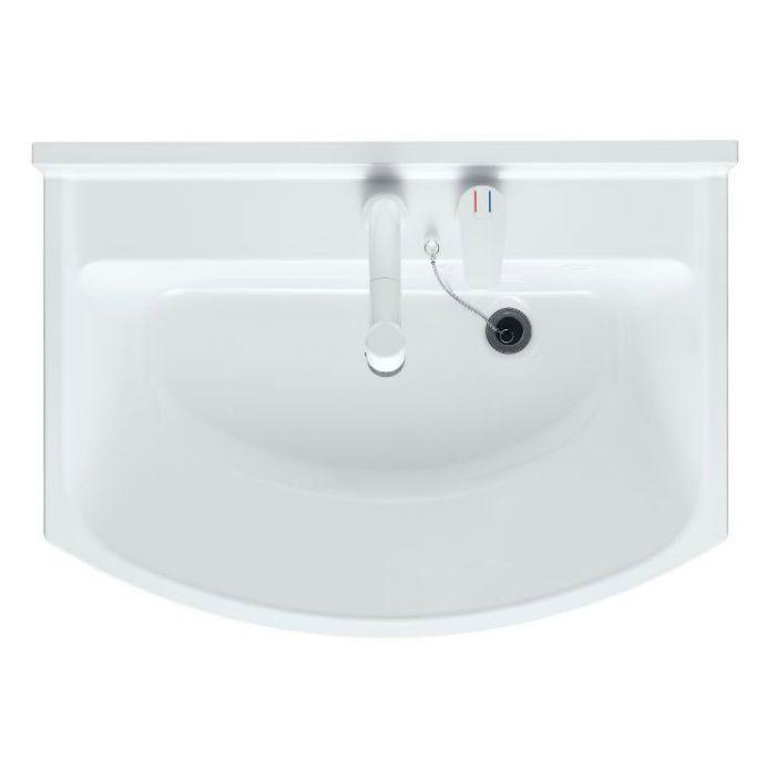 LKAL750AUNJ3KAD1 洗面化粧台セット アルバ750 三面鏡 ダークブラウン 一般地仕様