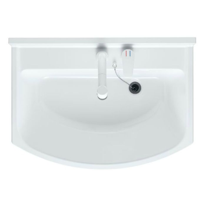 LKAL750AUCJ3KAW1 洗面化粧台セット アルバ750 三面鏡 ホワイト 寒冷地仕様