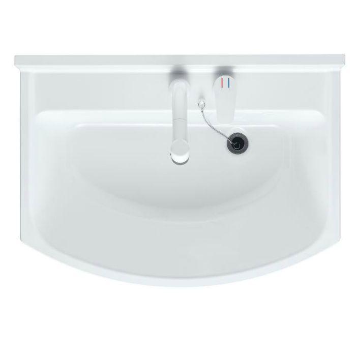 LKAL600AUCJ5SBLHW1 洗面化粧台セット アルバ600 ホワイト 寒冷地仕様