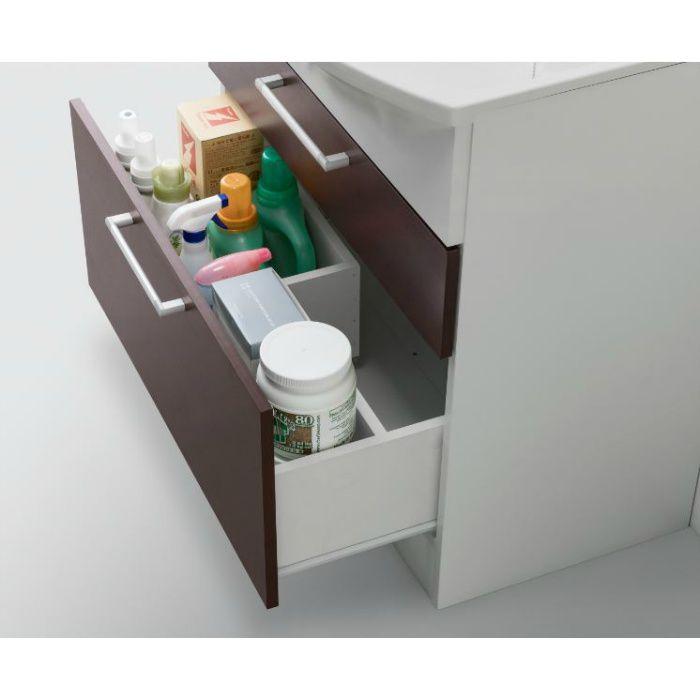 LKAL600AUCJ5SBLHD1 洗面化粧台セット アルバ600 ダークブラウン 寒冷地仕様