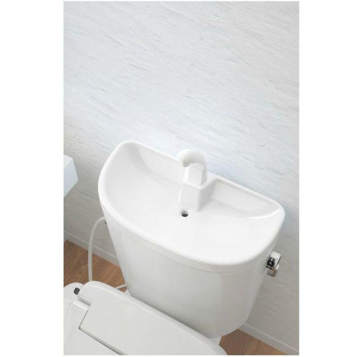 RA3848TR130LW トイレセット エディ848 温水洗浄便座脱臭付 手洗付 ラブリーホワイト