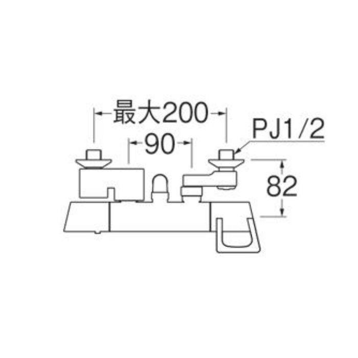 SK1814-N-13 サーモシャワー混合栓