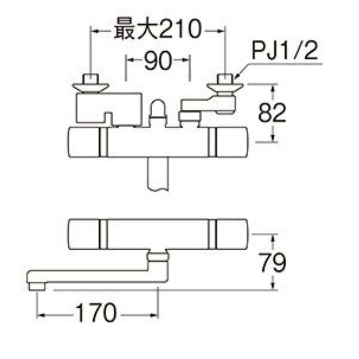 SK18520S9-13 サーモシャワー混合栓