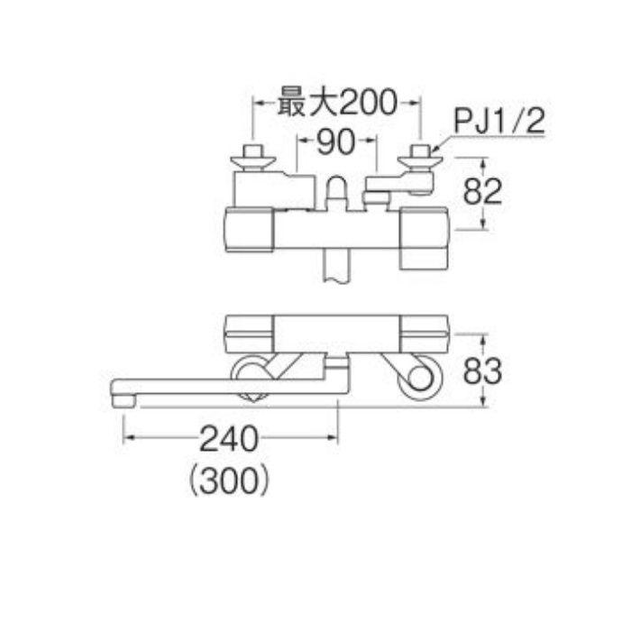 SK18C-S9L30 サーモシャワー混合栓
