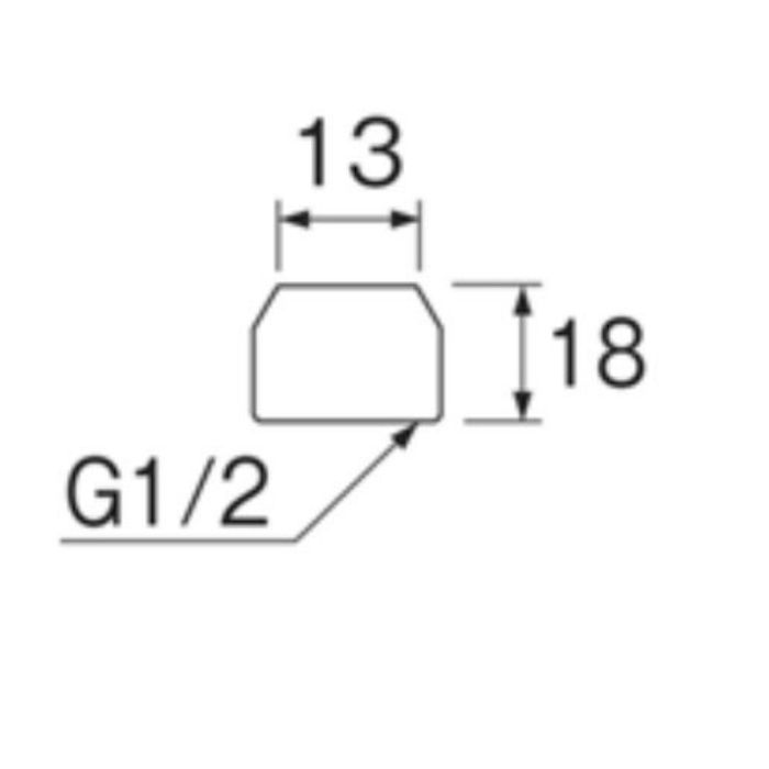 T90-23-13 止水栓抜止ナット