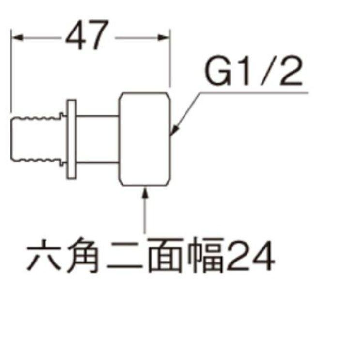 T6150-44S-13X13A ナット付アダプターセット