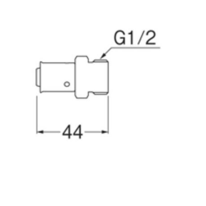 T601-4-13X13A オスアダプター平行