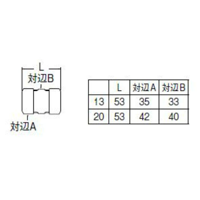 T64A-1-13 ポリパイソケット1種