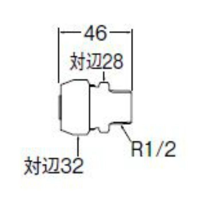 T60-2-13 ポリパイジョイント2種オス