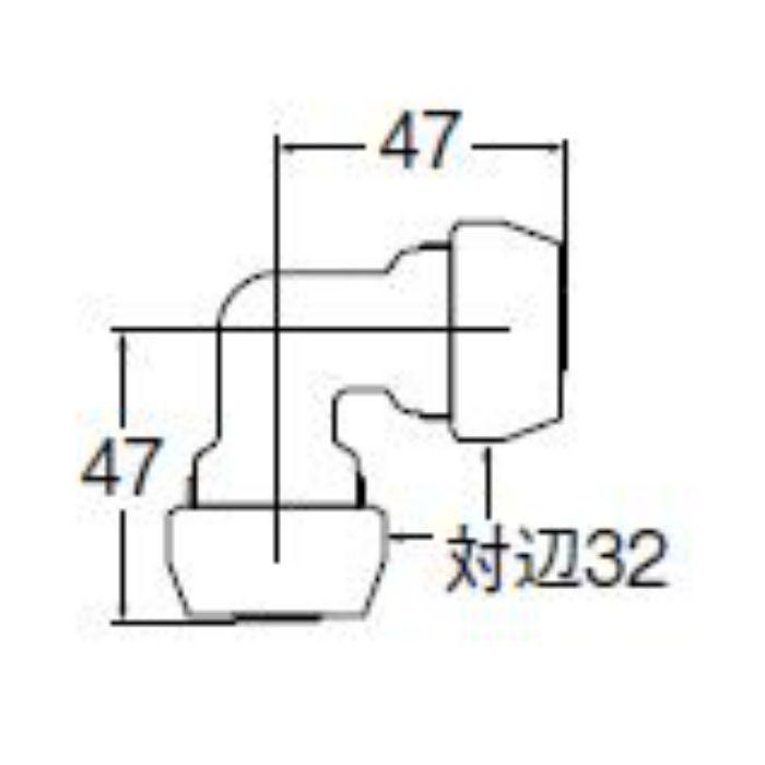 T65-1-13 ポリパイエルボソケット1種