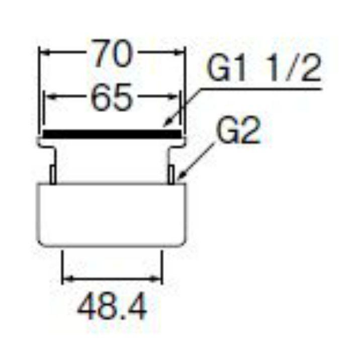 PH62-820 流し用アダプター