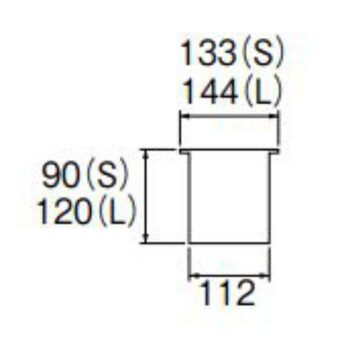 PH6501AF-2-L 流し排水栓カゴ
