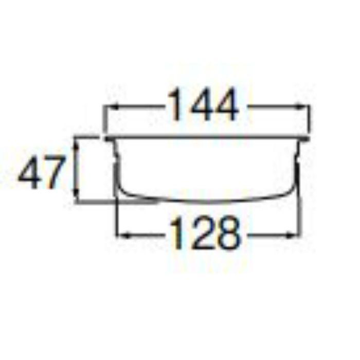 PH698AF-L-LP キッチンバスケット ピンク