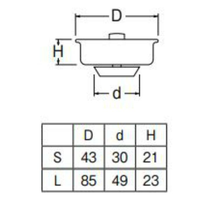 PH62F-L 流し排水栓ゴミ受