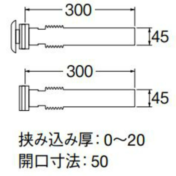 PT40-3 バスステンレス接続管