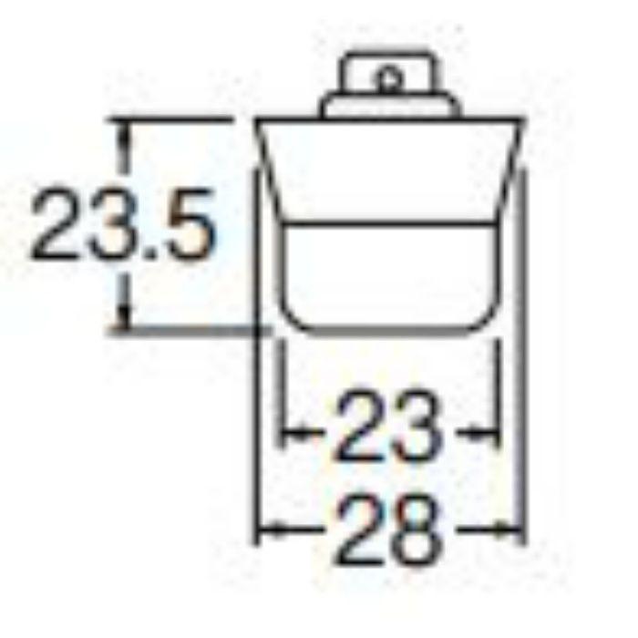 PH26 バス用J型クサリ付ゴム栓