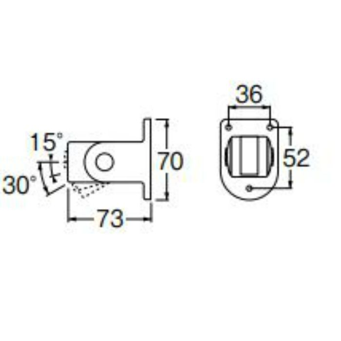 PS30-45-W シャワー掛具