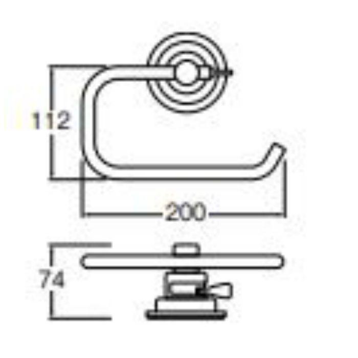 PW5373-2 吸盤タオル掛