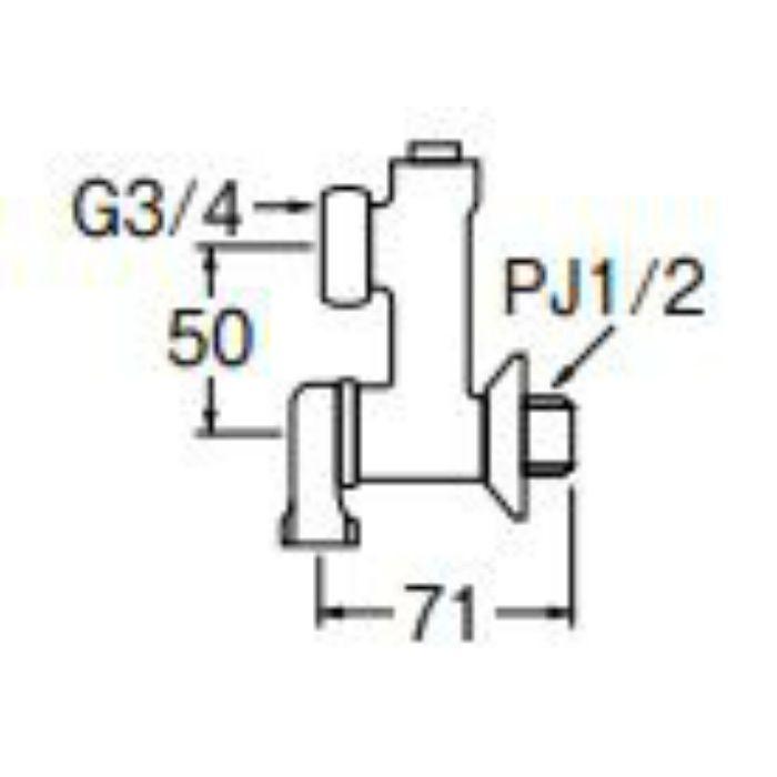PU3-11X-50 偏心分岐