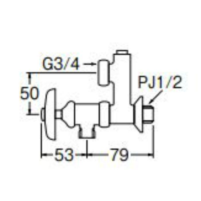PU3-12X-50 偏心分岐バルブ