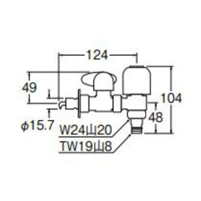 PB585-13 上部分岐