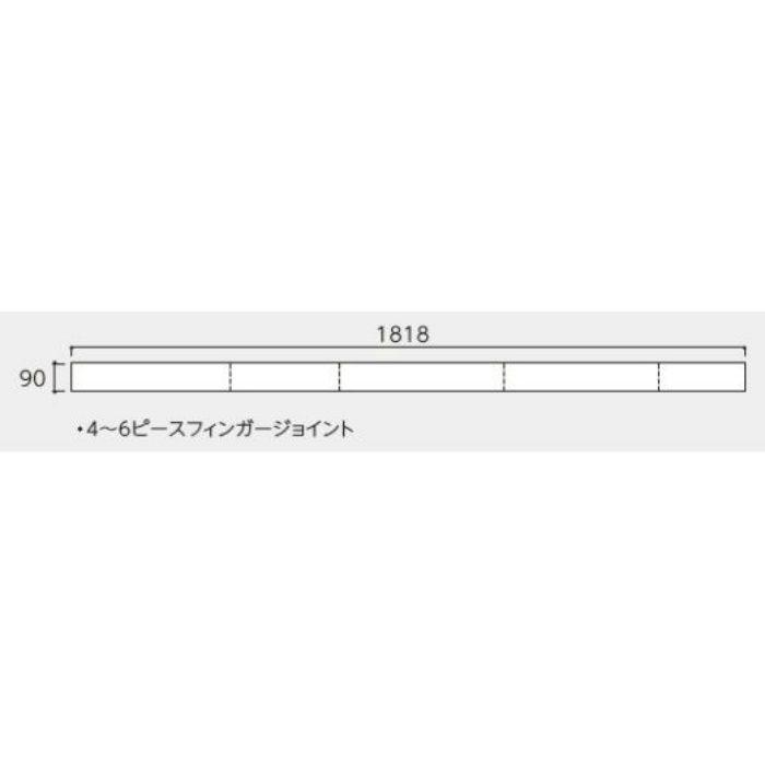 OAR-WU プレミアムク オーク・ホワイト色(うづくり) 一般用 クリアブライト塗装