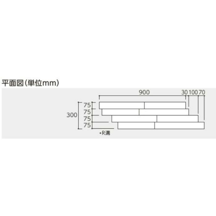 DYRD-MW 床暖房用ダイレクトエクセル40RG ミディアムウォールナット色