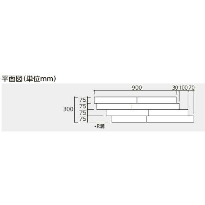 DYRD-DW 床暖房用ダイレクトエクセル40RG ディープウォールナット色