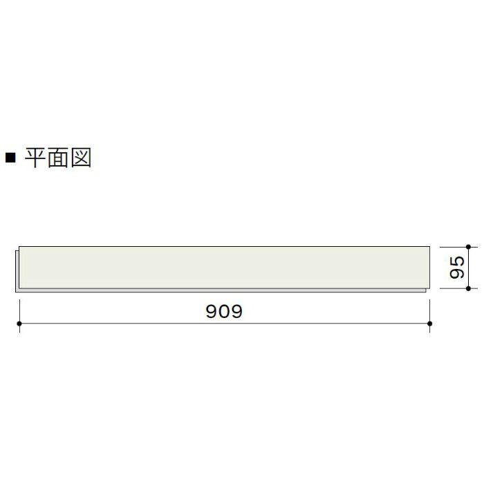 HLP0002L4K ライブナチュラル ネダレス95(L-45) ブラックウォルナット 1Pタイプ95mm【地域限定】