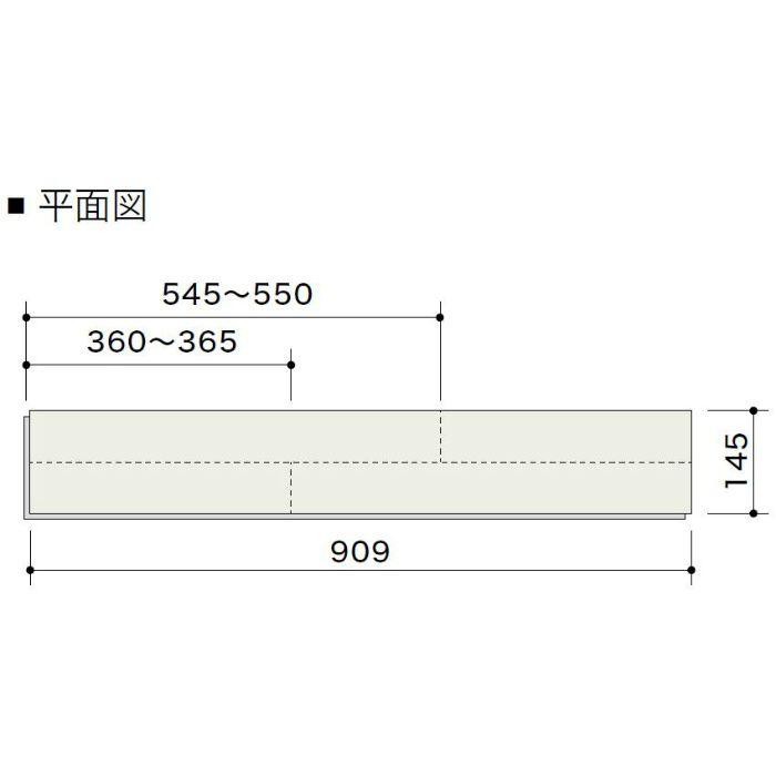 HLBF0017L4K ライブナチュラル ネダレスHLBF(L-45) ハードメイプル 2Pフラットタイプ145mm【地域限定】