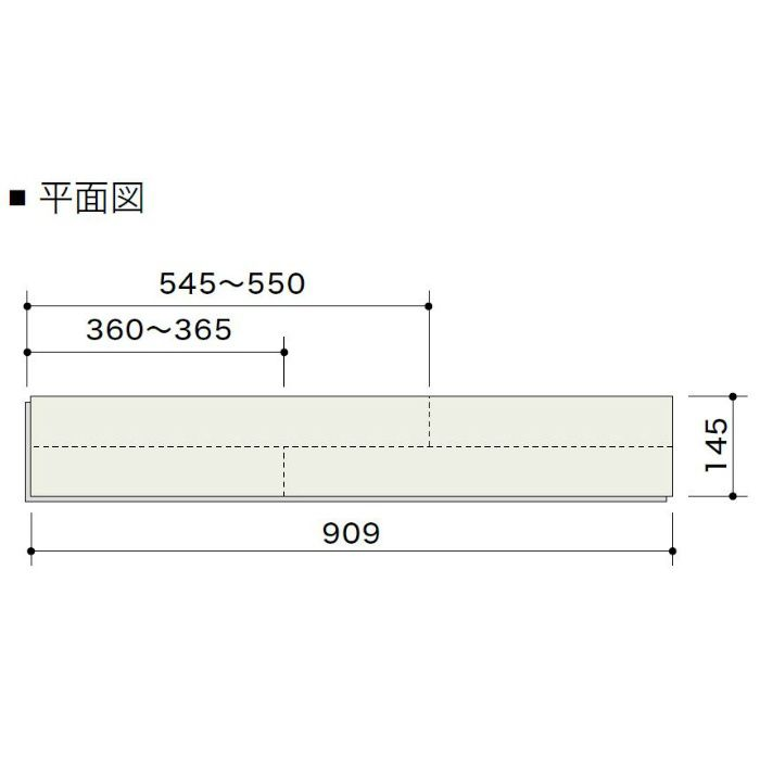 HLBF6205L4KA エアリス-α ネダレスHLBF(L-45) カジュアルブラウン色 2Pフラットタイプ145mm【地域限定】