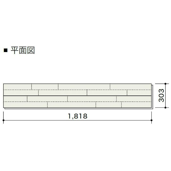 HCG4TA2705 エアリス-α スーパー6 ドライベージュ色 4P1本溝タイプ303mm【地域限定】