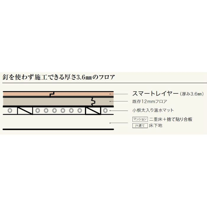 ULHS503 アネックス STスマートレイヤー メイプル柄 1Pタイプ151.5mm【地域限定】