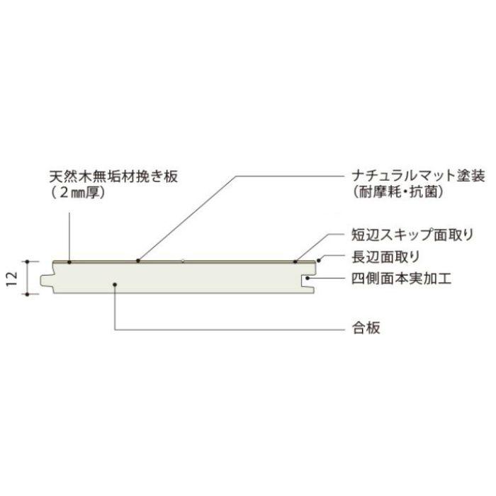 PMT2M0305BY ライブナチュラル プレミアム MOMENT グリ 2Pタイプ横溝なし【地域限定】
