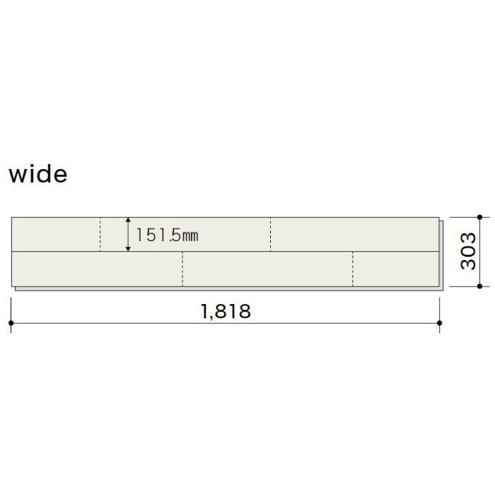 PDTAWKJ05 ライブナチュラル プレミアム nendo collection/stream wide オーク N-45°【地域限定】