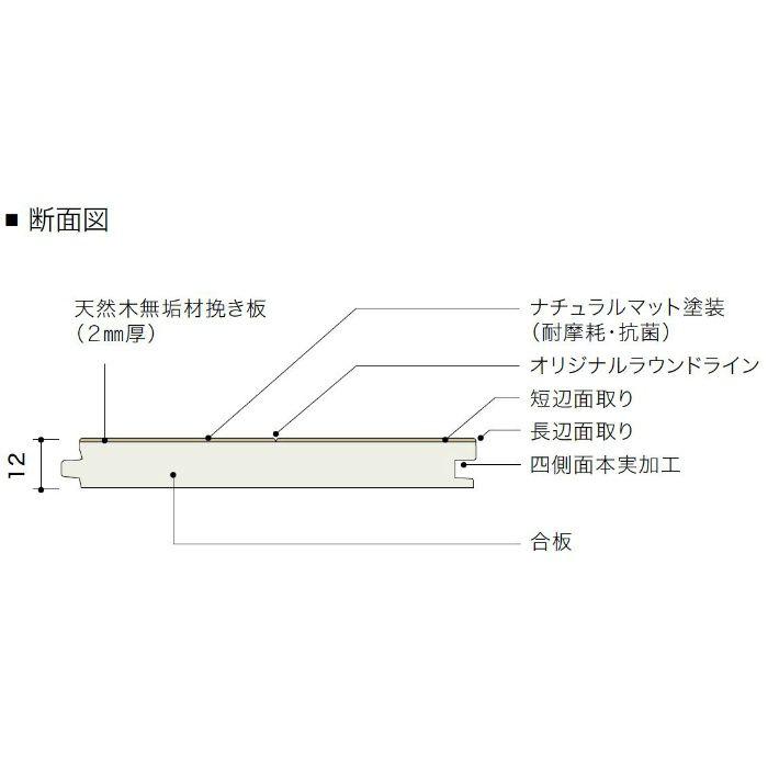 PDTAGKJ48 ライブナチュラル プレミアム nendo collection/grid ブラックチェリー 303mm【地域限定】