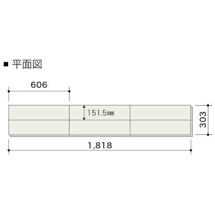 PDTAGKJ17 ライブナチュラル プレミアム nendo collection/grid ハードメイプル 303mm【地域限定】