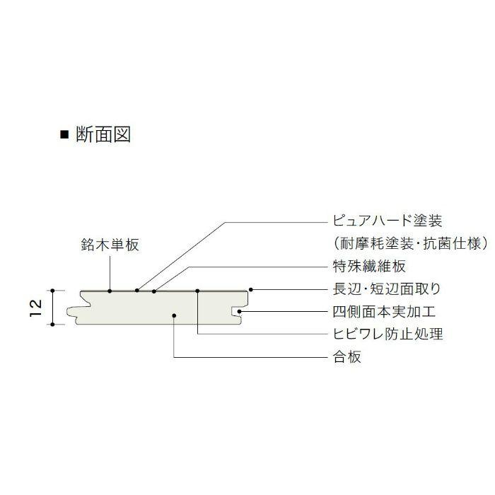 HPC10047MT ライブナチュラル エクストラワイド シカモア 1Pタイプ145mm【地域限定】