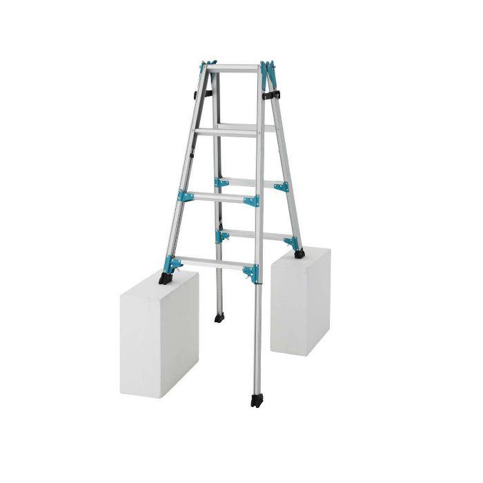 RYX1.0-12 脚部伸縮式 はしご兼用脚立