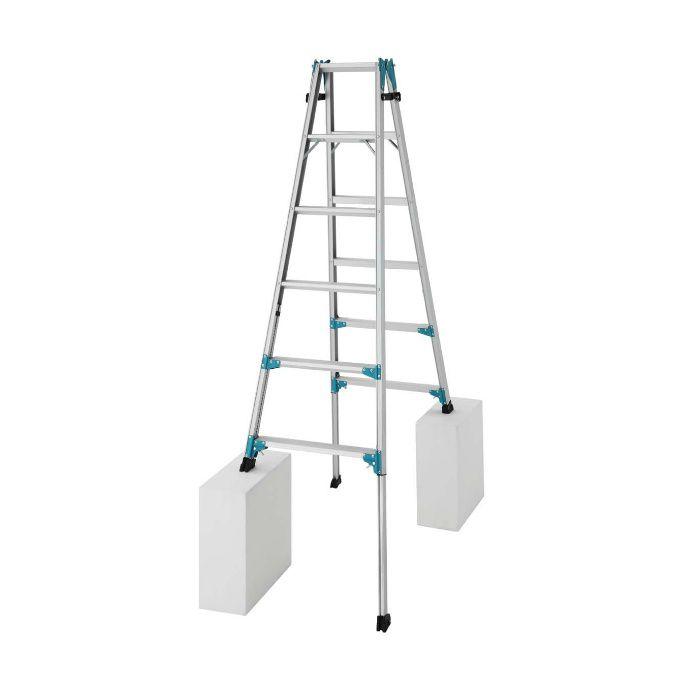 RYX1.0-18 脚部伸縮式 はしご兼用脚立