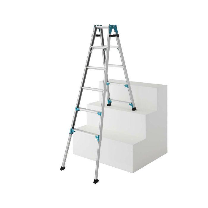 RYE1.0-18 階段用 はしご兼用脚立 脚部伸縮式