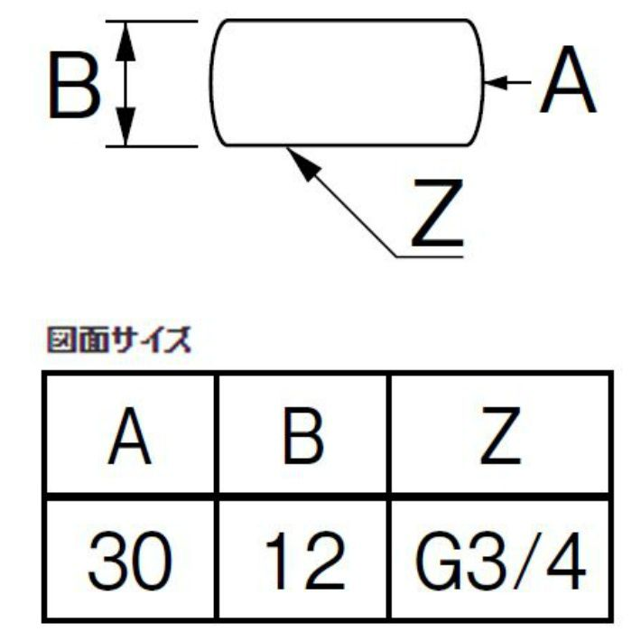 B41A-24-20 キャップナット