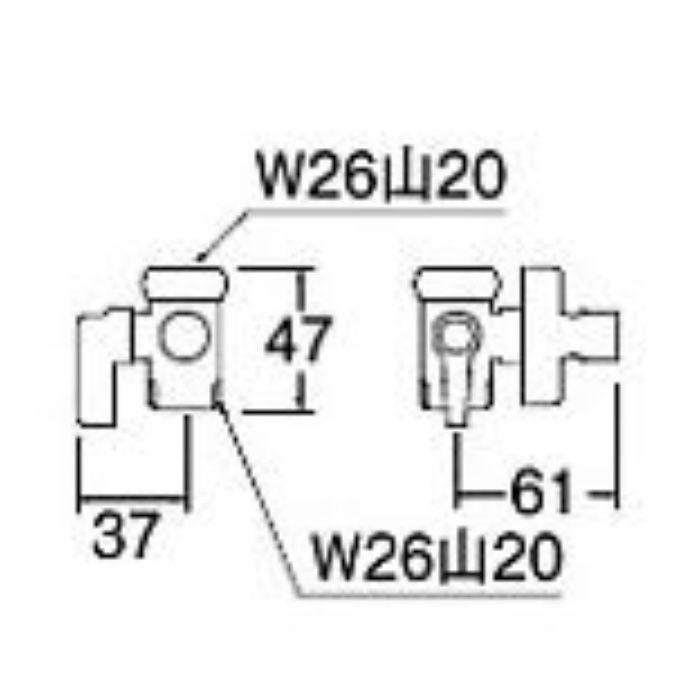 PB520-13 分岐バルブ