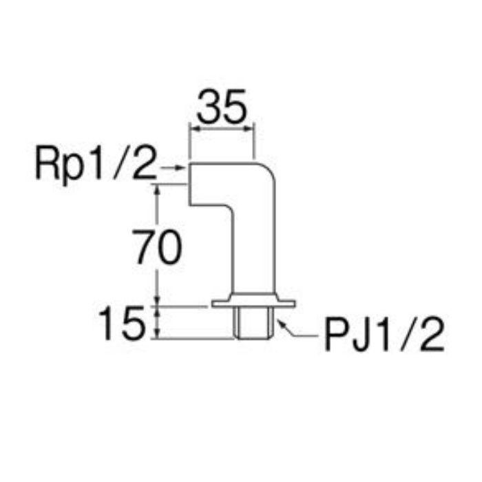 T26-13 水栓取付脚