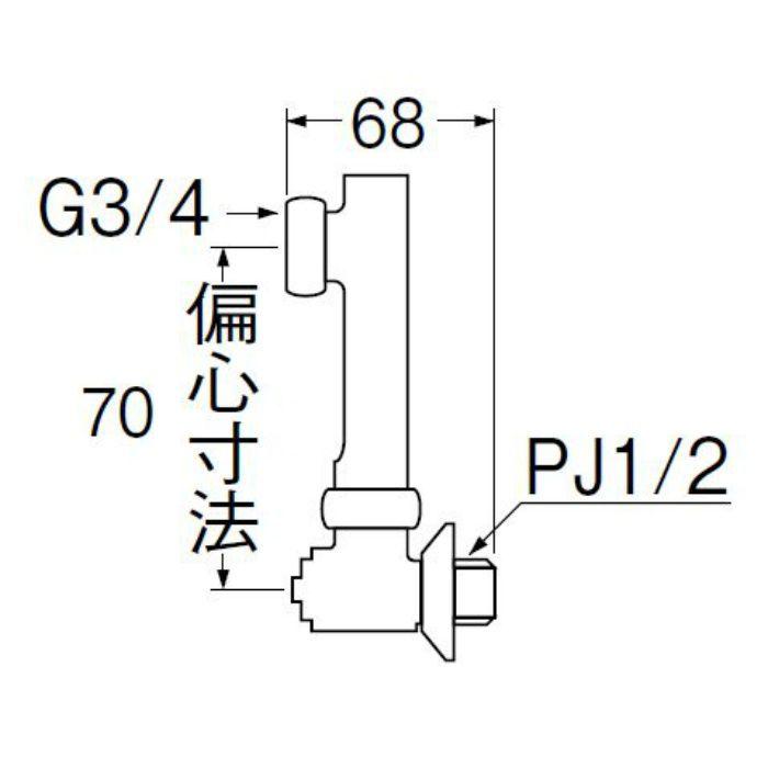 U3-9X-70 延長偏心管