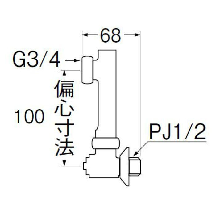 U3-9X-100 延長偏心管
