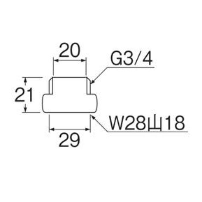 PT242S 偏心管アダプター 2個入