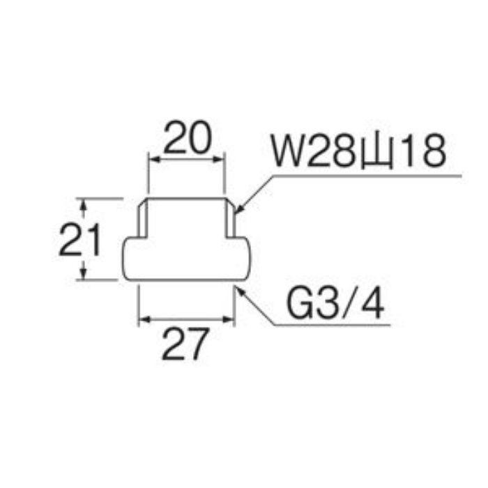 PT243S 偏心管アダプター 2個入