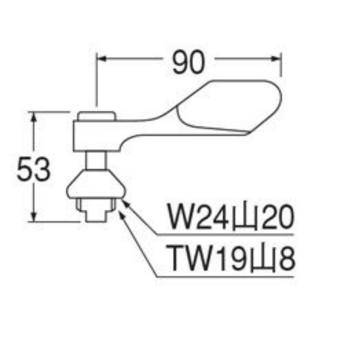 PR130A-13 給水栓上部
