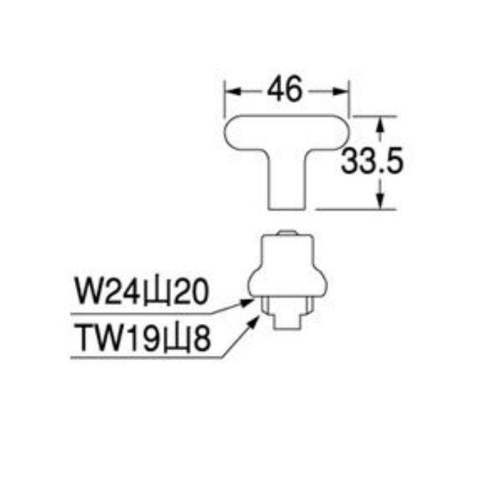 PR16AS-13 共用水栓上部